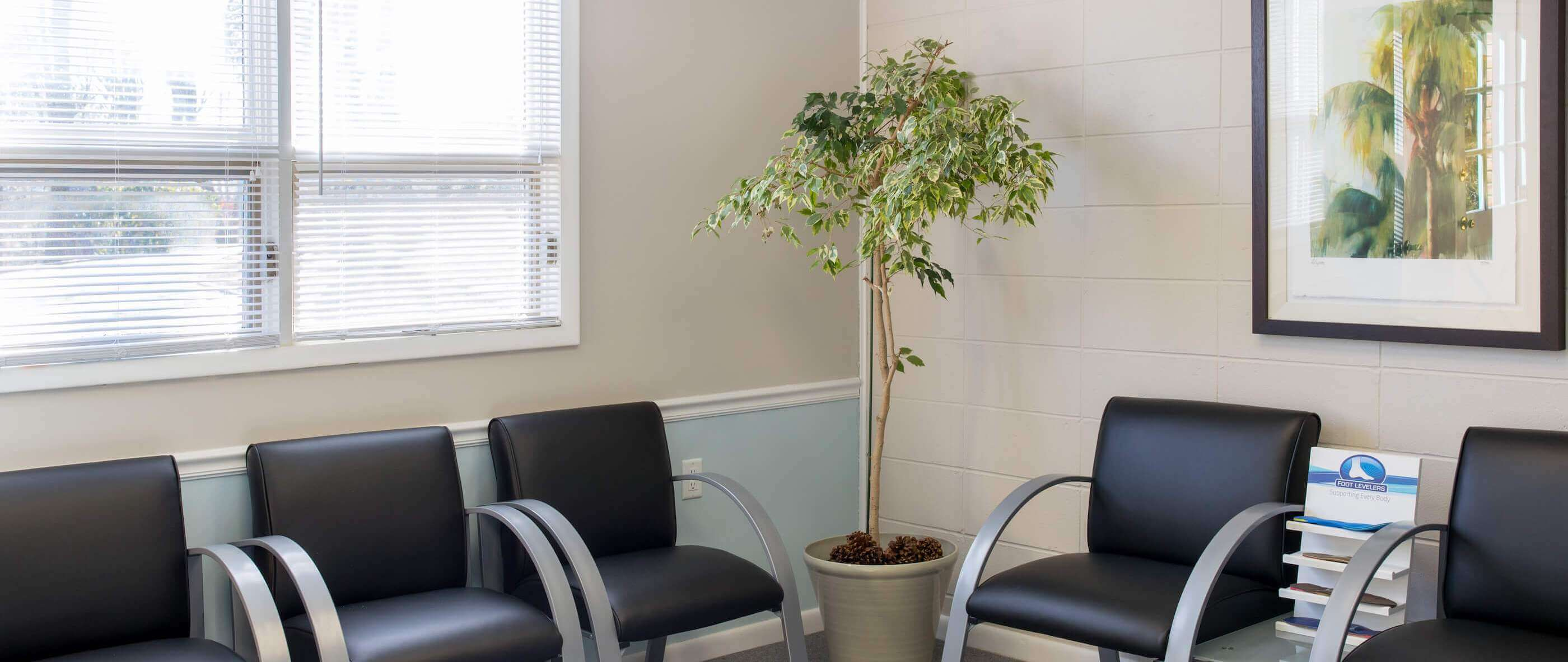 Chester Chiropractic Center, Chester NJ, Morris County waiting room